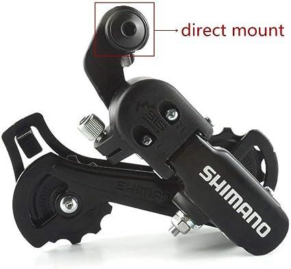 Shimano Tourney RD-TY300 6//7 Speed Direct Mount Bike Bicycle RearD erailleur