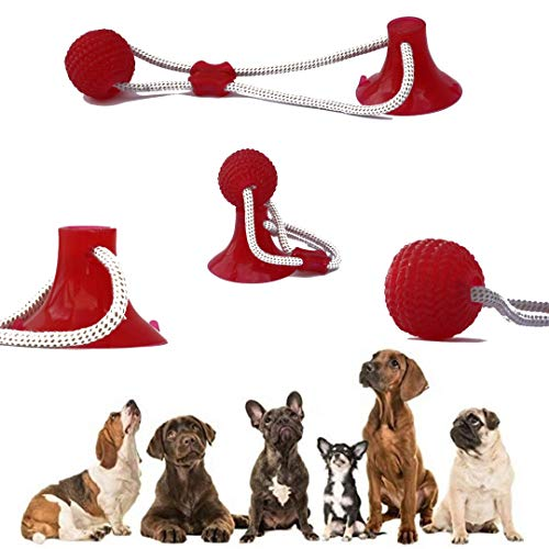 NanaCare Dog Chew Tug Rope Toy for Small Aggressive Chewers. Multifunction Cleaning Teeth, Bite The Molar. with Elastic…