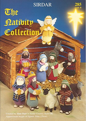 Sirdar Knitting Pattern Book 285 The Nativity Collection By Alan