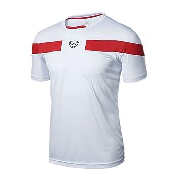 Tapas de verano al aire libre corriendo vela suertudo camisetas deportivas camiseta Slim Fit de secado