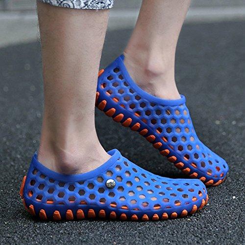 Outdoor Unisex PVC Yellow MAIERNISI Water 89 Blue Men's Shoes Women's JESSI w7IxqAa