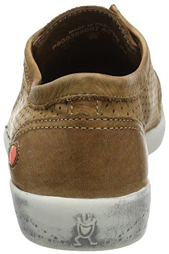 Softinos Damen Ica388sof Sneaker Braun