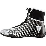 TITLE Predator II Boxing Shoes, White/Black, 11