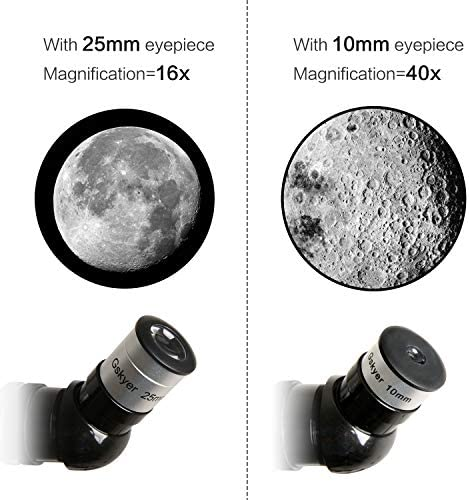 51Rvjr6D YL. AC  - Gskyer Telescope, 70mm Aperture 400mm AZ Mount Astronomical Refracting Telescope for Kids Beginners - Travel Telescope with Carry Bag, Phone Adapter and Wireless Remote