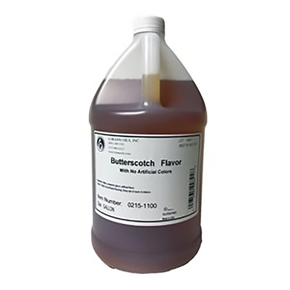 Lorann Butterscotch (no color added) Super Strength Flavors One Gallon