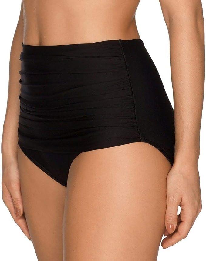 Prima Donna Cocktail plein Bikini Bottoms 4000156 Nouveau haut maillot de bain noir