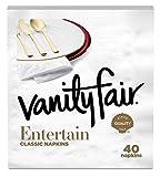 Vanity Fair Entertain Dinner Napkins, 960 Count