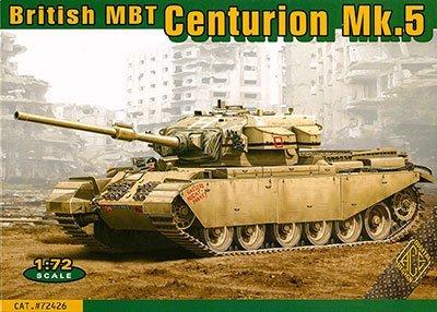 エース 1/72 イギリス センチュリオンMk.5 主力戦車 105mm砲型 プラモデル UA72426 B01I8ZZ6W0