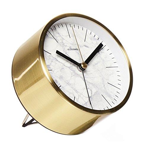 Cloudnola Inc. Structure Marble Jr. Alarm (Gold Clock White White)