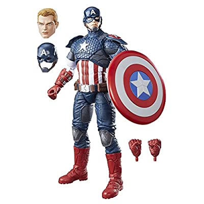 Marvel Legends Series 12-inch Captain America: Toys & Games