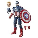 The Avengers Marvel Legends Series Captain America, 12-Inch