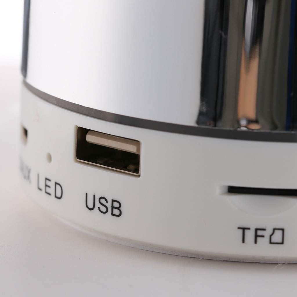 Haludock - Altavoz portátil con Bluetooth y Radio USB: Amazon.es ...