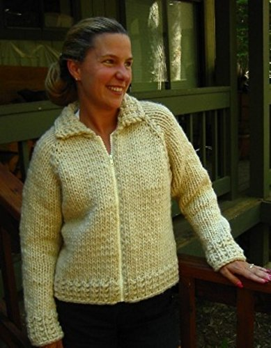 677dd2b43 Image Unavailable. Image not available for. Color  Knitting Pure   Simple  Knitting Pattern 234 Weekend Neck Down Jacket ...