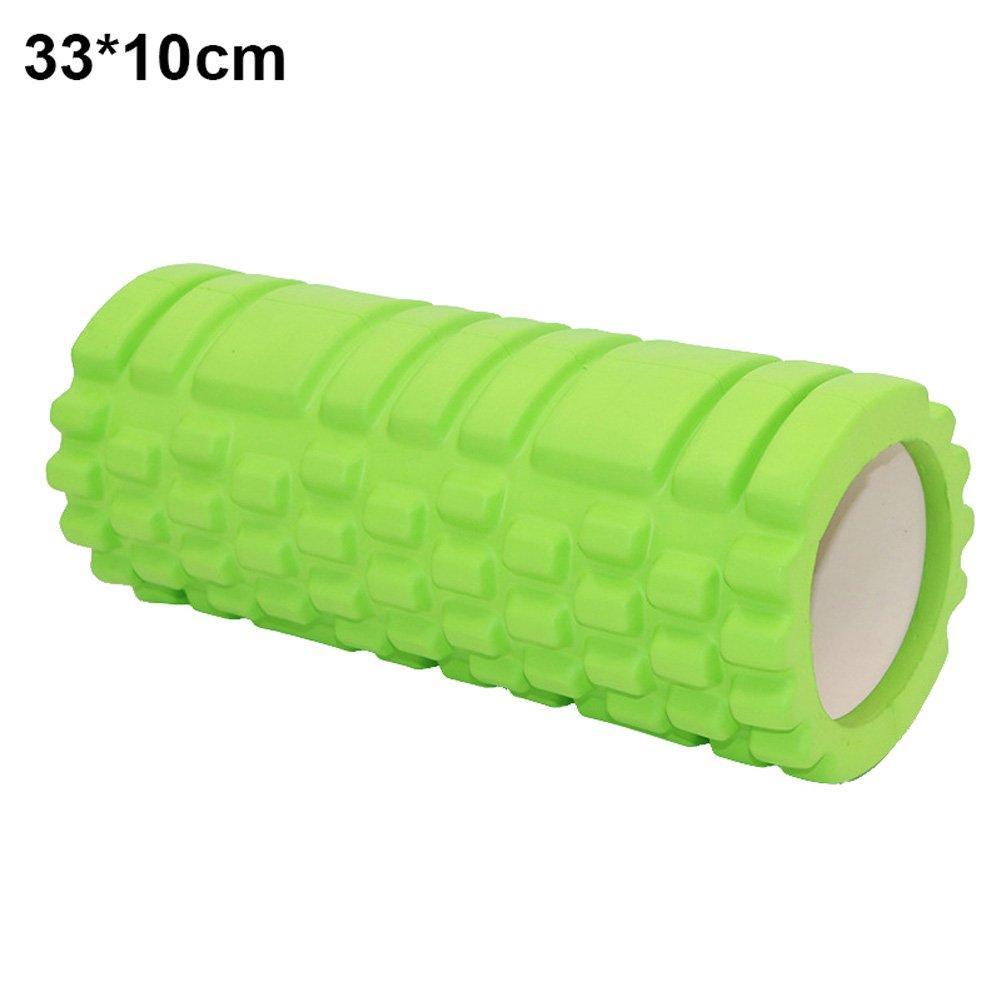 Alextry Fitness Rullo di Schiuma ad Alta densità Esercizio Posteriore Muscoli Pilates Yoga Training Massaggio Fisioterapia