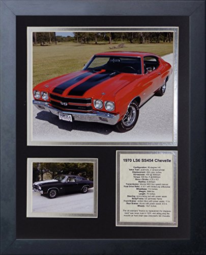 Chevelle Collectibles (Legends Never Die 1970 Chevelle 454 SS LS6 Framed Photo Collage, 11