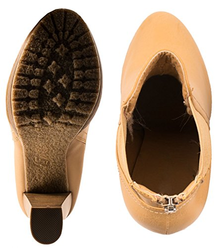Elara Women's Boots grey grey Camel 9ba9l