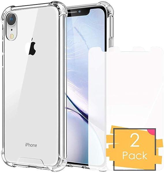 Comprar Funda iPhone XR Transparente Antigolpe Premium