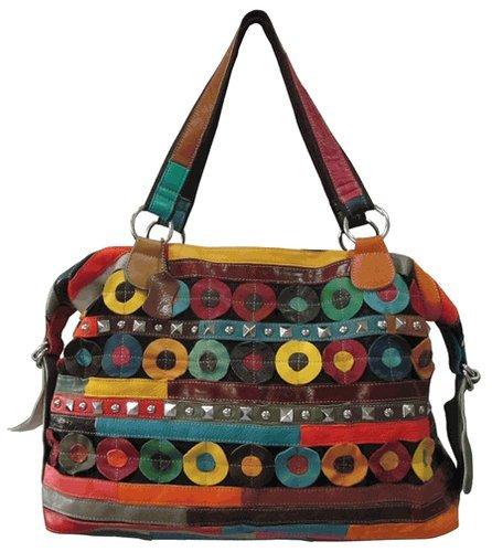 amerileather-quincy-handbag-rainbow