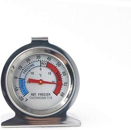 Acier inox température du réfrigérateur cadran congélateur type thermomètre 6H