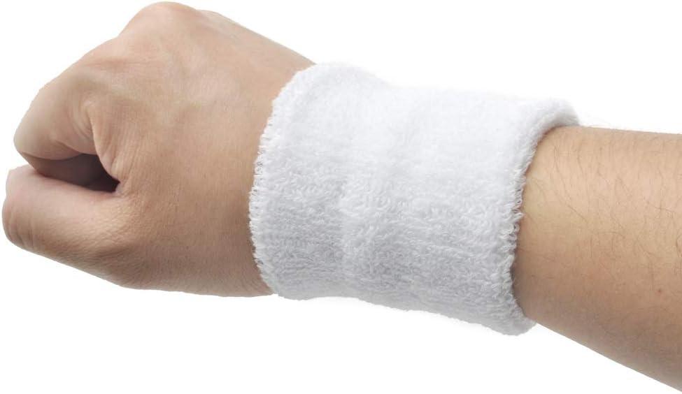 GOGO Bandeau de Poignet en Tissu /éponge Couleurs vari/ées