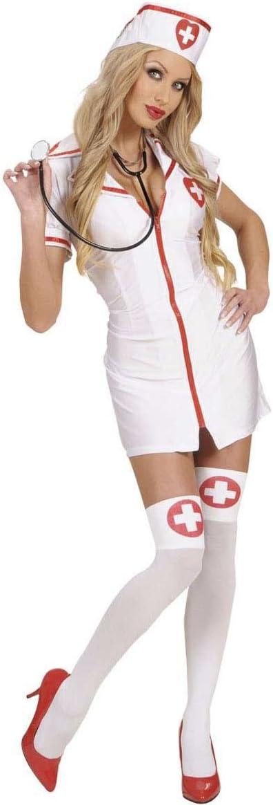 WIDMANN Widman - Disfraz de enfermera de hospital para mujer ...