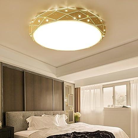 Cttsb Bedroom light modern simple ceiling light warm romantic ...