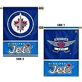 NHL 2 Sided Vertical Flag