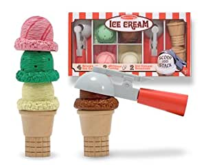 Melissa & Doug Deluxe Ice Cream Parlor Set