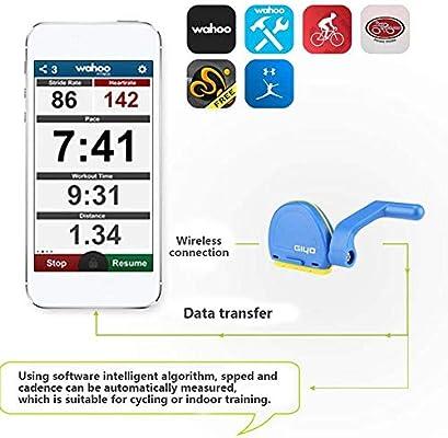 DokFin Sensor de Cadencia de Bicicleta, Sensor de Velocidad de ...