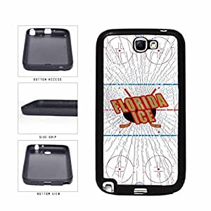 Florida Ice SILICONE Phone Case Back Cover Samsung Galaxy Note II 2 N7100
