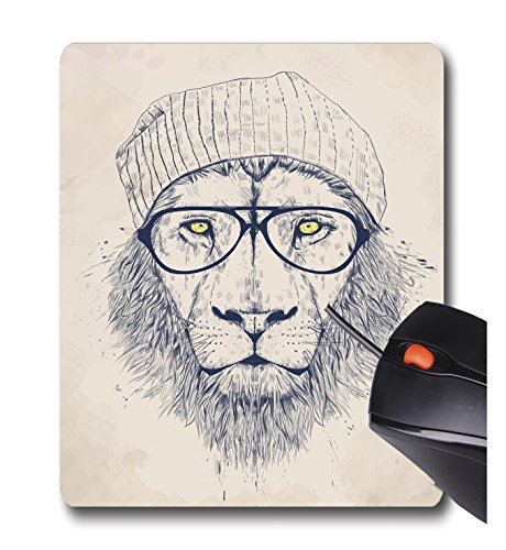 AOFFLY Balazs Solti - Cool Lion - Non-Slip Rubber Mousepad Gaming Mouse Pad from AOFFLY