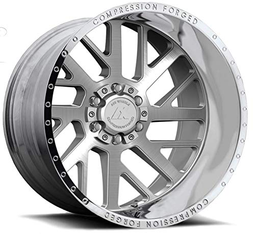 AXE Compression Forged 2.1 Wheels 8x170 Silver Brushed F250 F350