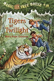 Tigers at Twilight (Magic Tree House Book 19) by [Osborne, Mary Pope, Sal Murdocca]