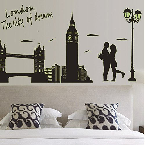 Wall Decals London Wall Stickers Decorative Wall Stickers - 3