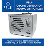 Felji Commercial Ozone Generator 4000mg 4g Air Cleaner Ionizer Purifier
