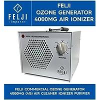 Felji Commercial Ozone Generator 4000mg 4g Air Cleaner Ionizer Purifier
