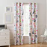 Room Darkening Paris Single Girls Bedroom Curtain Panel, 42 x 63