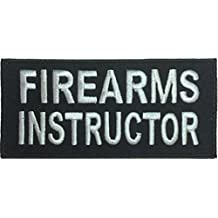 Patch Squad Men's Firearms Instructor Uniform Embroidered Biker Patch
