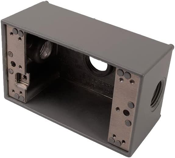 Diversitech PI385-4SQ Wthrprf BoxAL4-1//2inx4-1//2inx2
