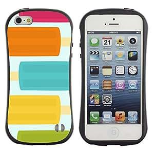 LASTONE PHONE CASE / Suave Silicona Caso Carcasa de Caucho Funda para Apple Iphone 5 / 5S / Food Pastel Pretty Colors Sweet