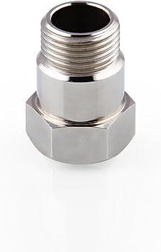 2pcs Stainless Steel O2 Oxygen Sensor Extension Extender Bung 2 Adapter Spacer