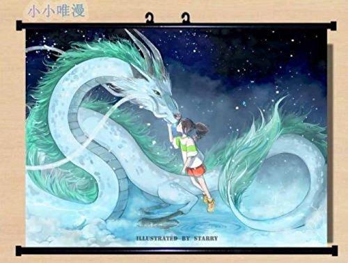 Cartoon world Spirited Away ogino chihiro and Nigihayami Koh