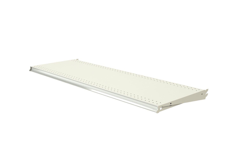 Fixtures Standard Upper Shelf, 48'' Wide x 16'' Deep, Finish (Sahara), 2 per Pack