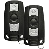 Discount Keyless Replacement Uncut Smart Remote Fob Key Compatible with KR55WK49127, KR55WK49123 (2 Pack)