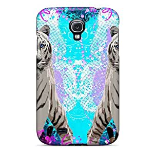 Premium Tiger Fire Http Falcon Art For Galaxy S4 Case - Protective Skin - High Quality