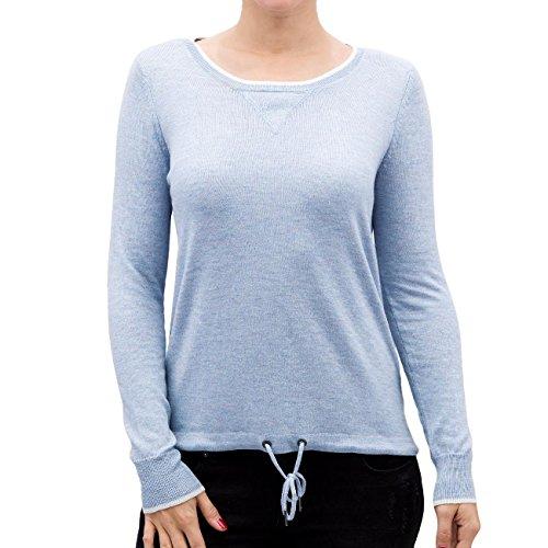 Only Mujeres Ropa superior / Camiseta de manga larga OnlPhilu O-Neck Azul