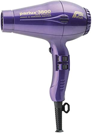Parlux 3800 Ceramic & Ionic 2100W Hair Dryer, Purple