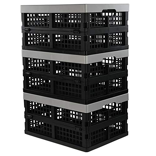 Jekiyo 16-Liter Folding Crates