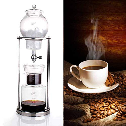 lemon-tree 600ml Watering Coffee Pot Reusable Glass Filter Tool Espresso Dropper Bottle Ice Cold Coffee Machine cost-effective
