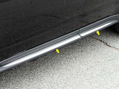 Upgrade Your Auto 6p Luxury FX Chrome 3 1//4-1 Lower Rocker Molding Trim for 08-13 Toyota Highlander